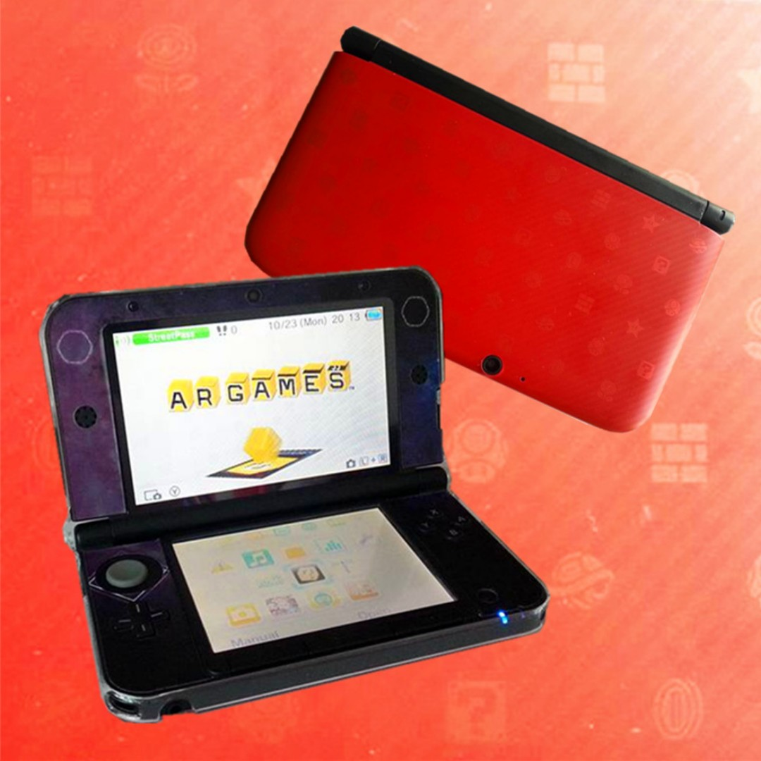 Limited Edition 3ds Xl Red New Super Mario Bros 2 Pack 3dsxl