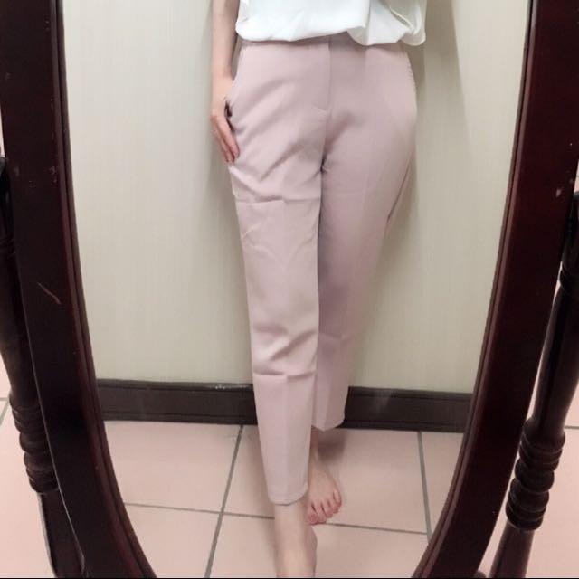 #手滑買太多 好質料秋款長褲 漂亮的粉色