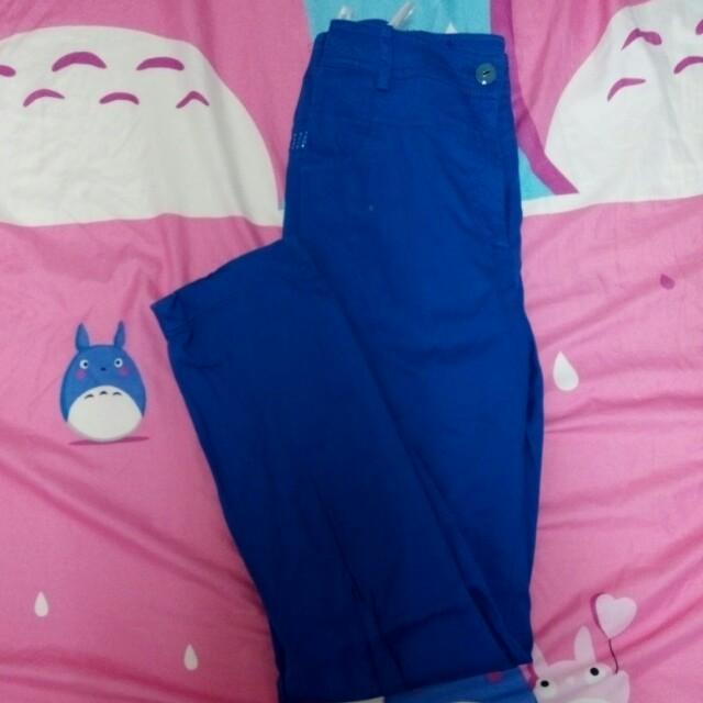 巧玲瓏藍色長褲 #長褲特賣 #交換最划算