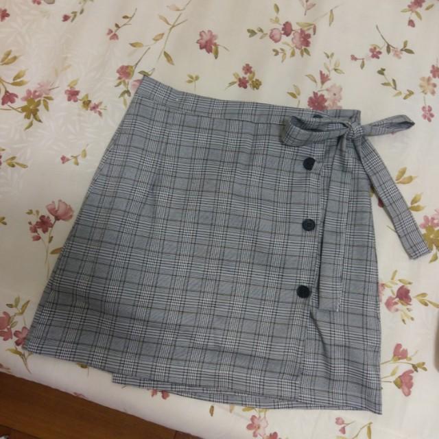 秋冬 經典款 格紋 短裙