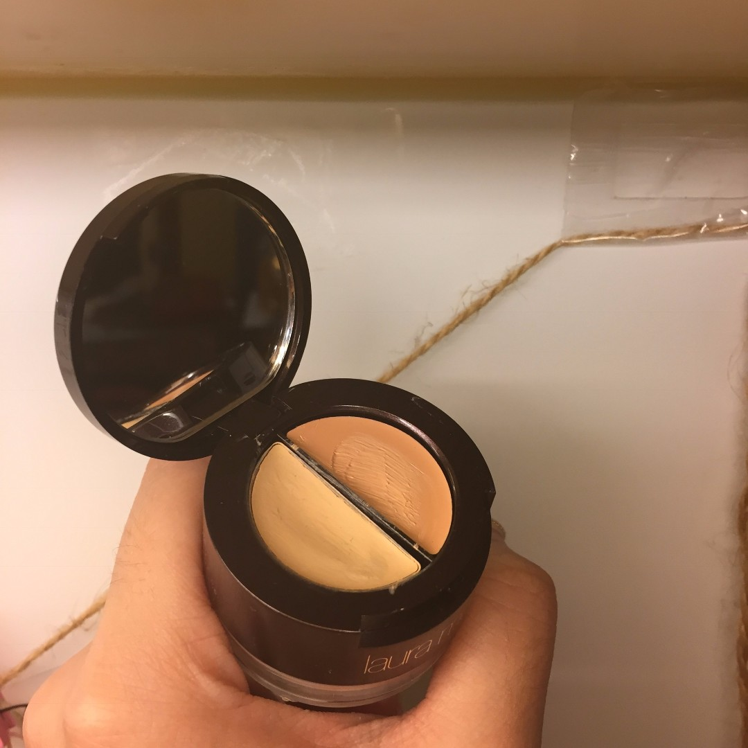 二手 Laura Mercier all in one 亮眼遮瑕組 蜜粉