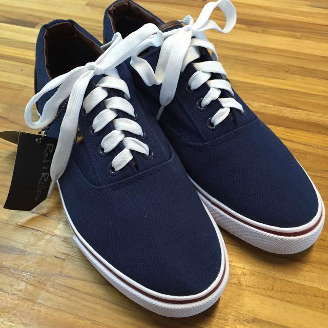 (年終清倉便宜賣)全新正品 Rock &Religion Balfour Plinsoles 帆布鞋
