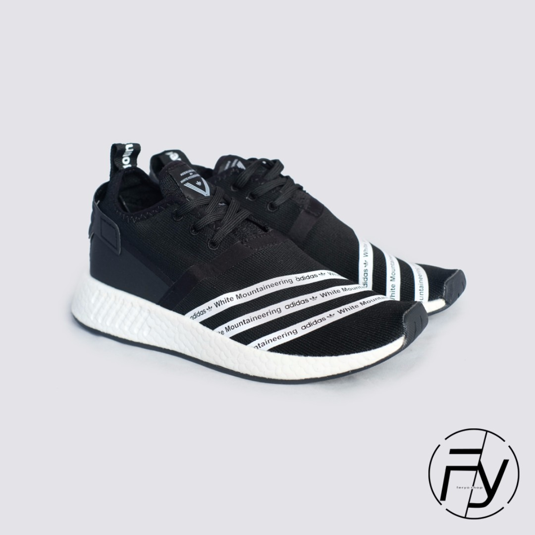 117e5461beb4f Adidas White Mountaineering x NMD R2 Black