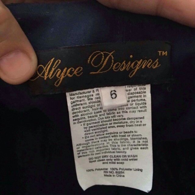 Alyce Designs (Gown)