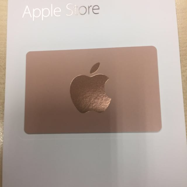 Apple Store gift card $500, Entertainment, Gift Cards