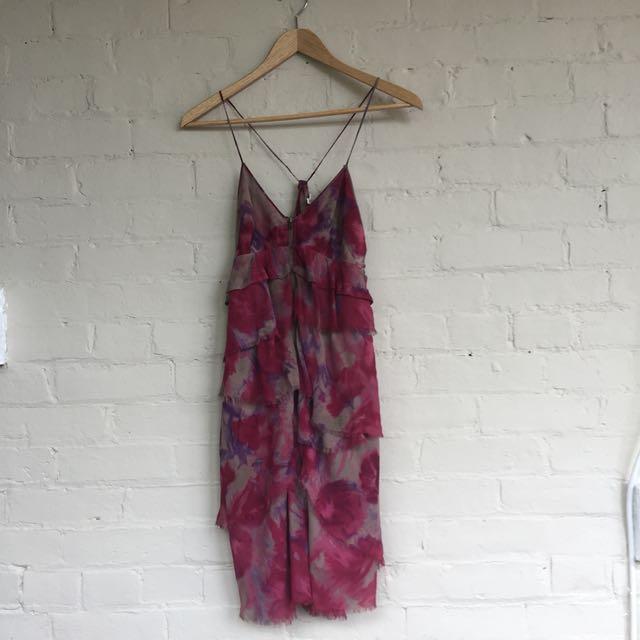 Aritzia Wilfred silk dress, size 2