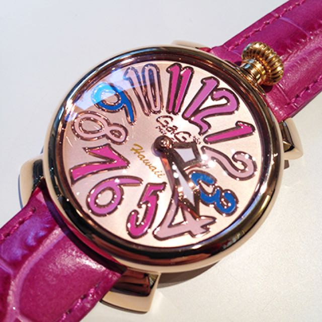 Authentic gaga milano limited edition watch