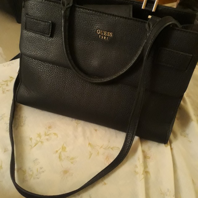 Authentic GUESS Chelsea Handbag with sling (REPRICED) f0ab021ad5bd1