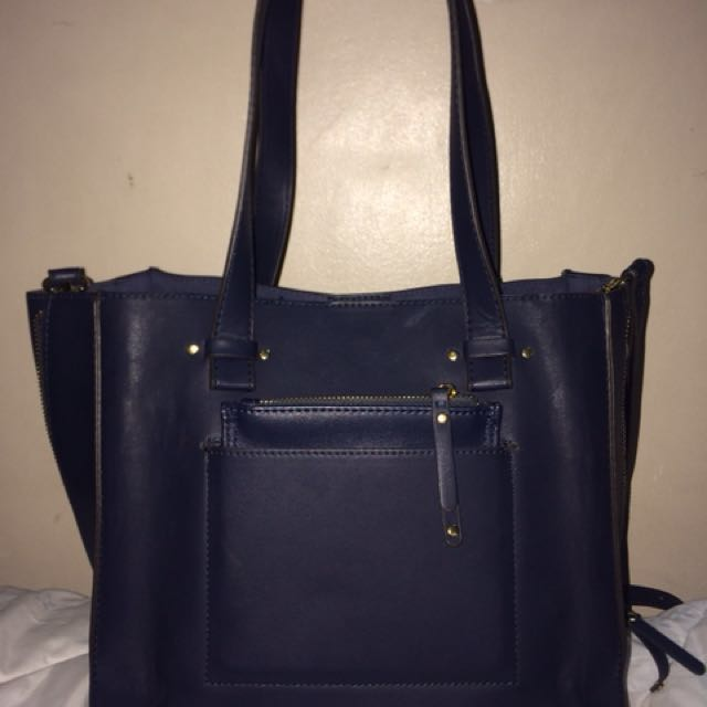 Authentic Parfois 3-in-1 bag navy blue