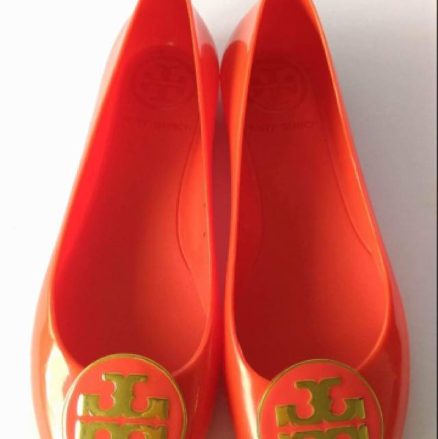 Authentic Tory Burch Jelly Shoes