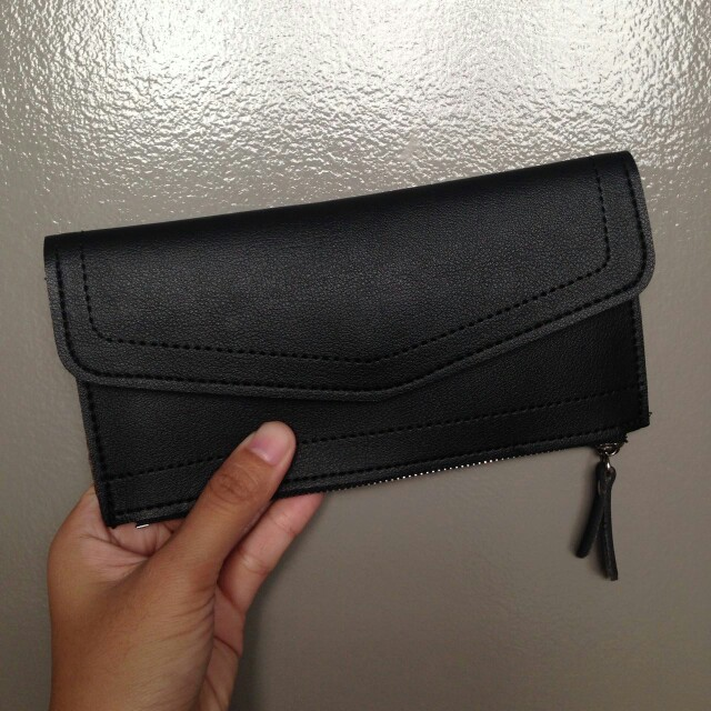 Black Wallet Pouch Free Shipping for Metro Manila