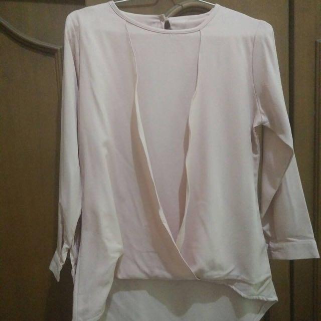 Blouse Pink / Kaos Pink