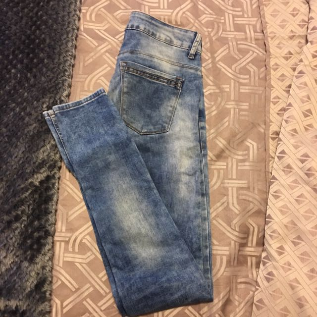 Blue jeans fits 8