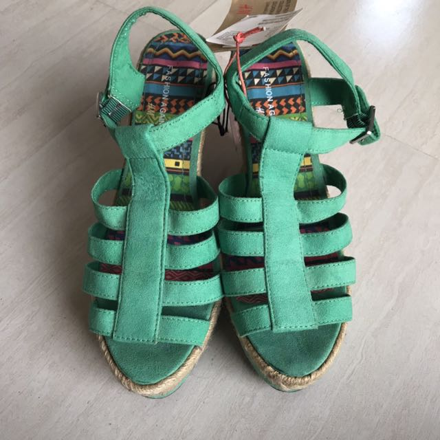 Brand New H&M Espadrille Wedge Shoes
