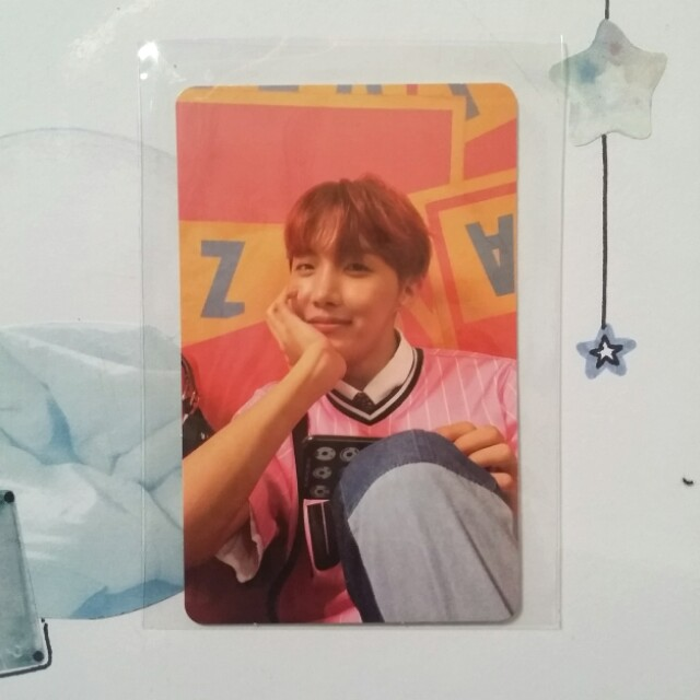 BTS HER Jhope [VER. E] Photocard