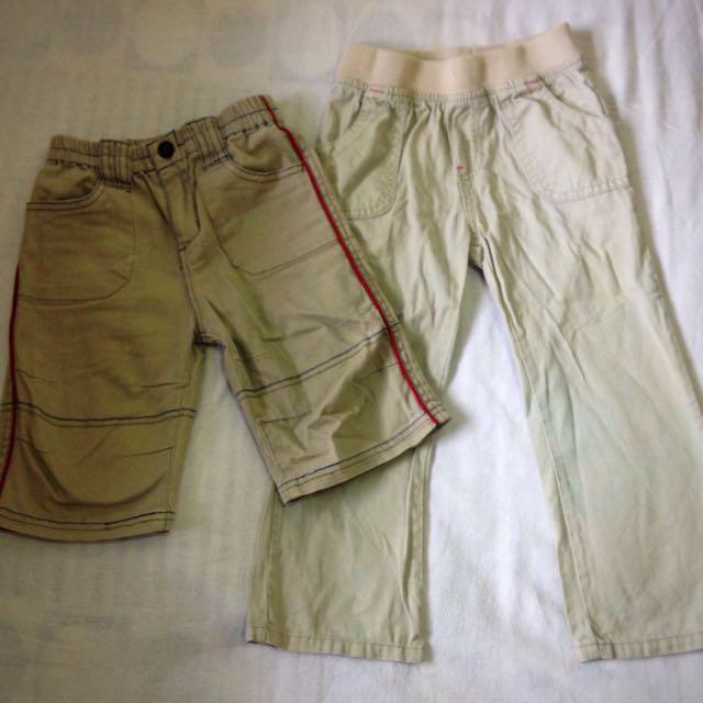 Bundle shorts and pants