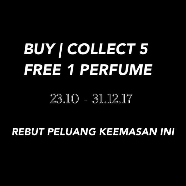 BUY | COLLECT 5 FREE 1 PERFUME