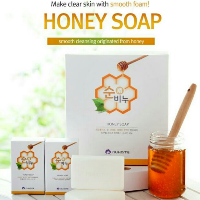 Cellin Honey Soap *Korean Product*