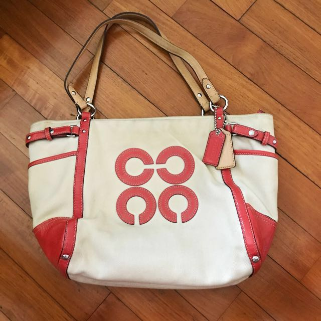 COACH Canvas Bag (100% Authentic)  a1edffa6ff