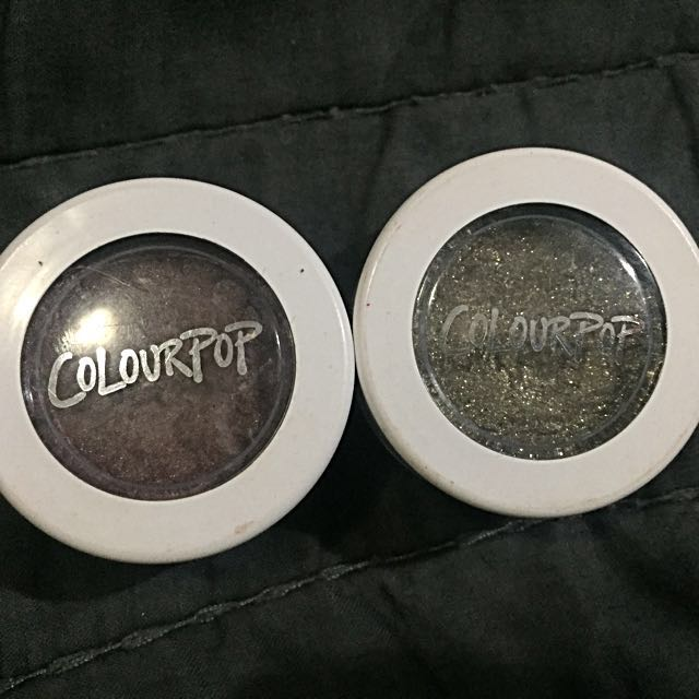 Colourpop Super Shock in Mittens and Hammered