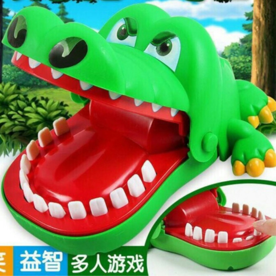 Crocodile Dentist Toy Babies Kids Toys Walkers On Carousell