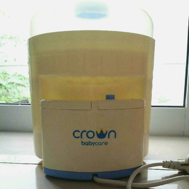 Crown Electric Steam Steriliser 6 Botol