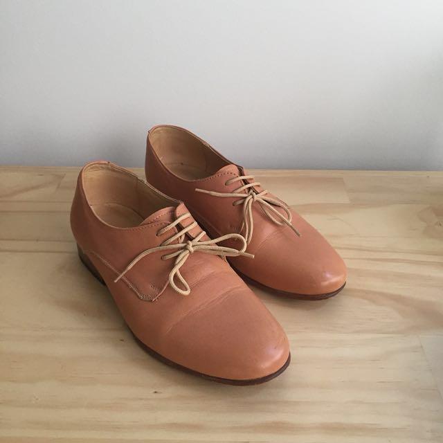 Dieppa Restrepo Leather Oxfords