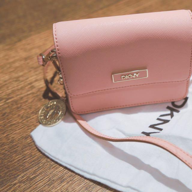 DKNY Pink Cross body Bag