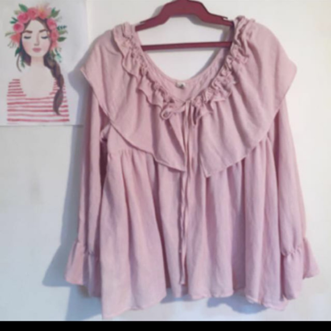 Dolce Amore Raffled Top Inspired