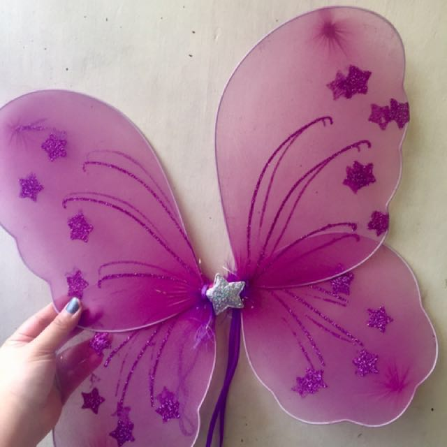 Fairy Wings If you buy 2 you'll get it for 100 pesos each