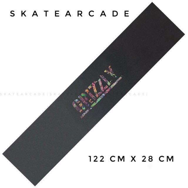 [FREE POSTAGE] Longboard / Skateboard Grizzly Griptape