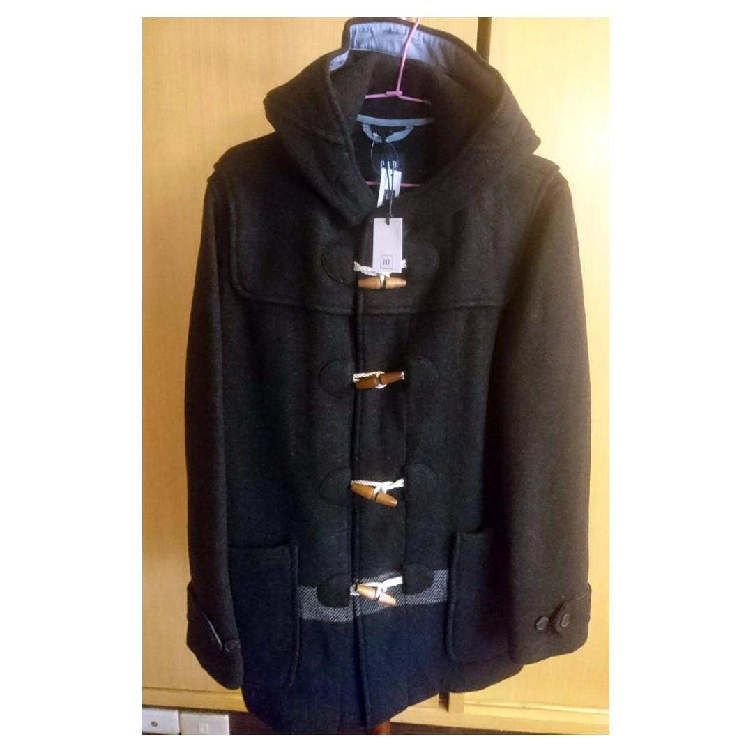 GAP 長版外套 防寒 英格蘭大衣 灰色 全新 XS號 標籤還在 日本入購 日本限定版! 絕對正品