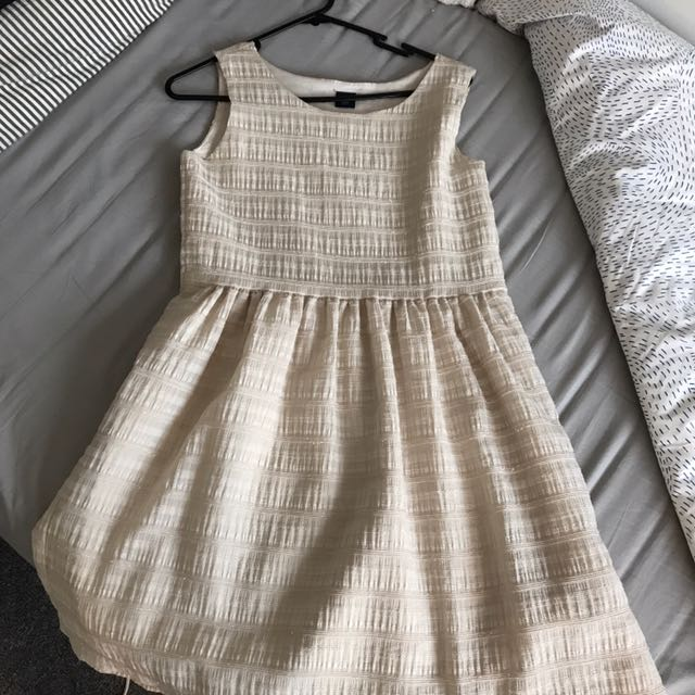 Gap Cream Dress