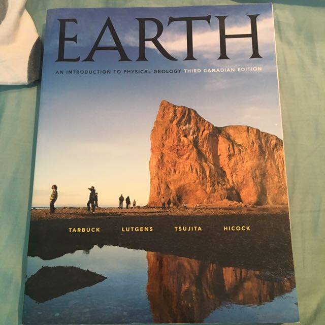 Geology textbook Earth 3rd edition