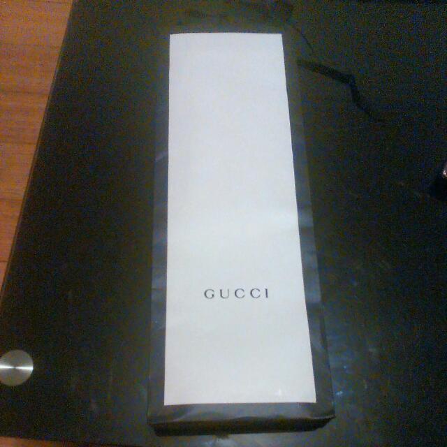 Gucci Paper Bag  Authentic