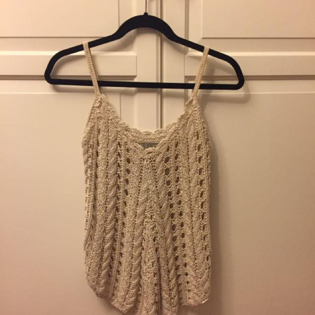 GUESS crochet top