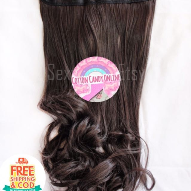 Hair Extensions Japanese Kanekalon Heat Resistant Preloved Womens