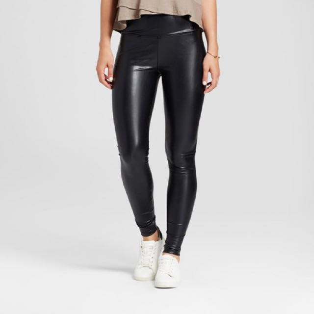 H&M Faux Leather Pants- Perfect for Halloween!