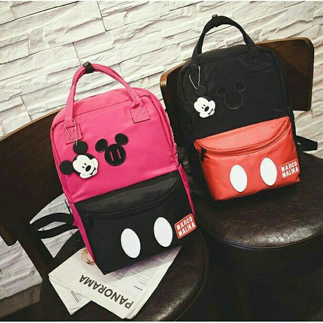 db73838bc62 HOT SELLING 🔥🔥 RESTOCK 🔥(A054) Mickey Mouse Backpack
