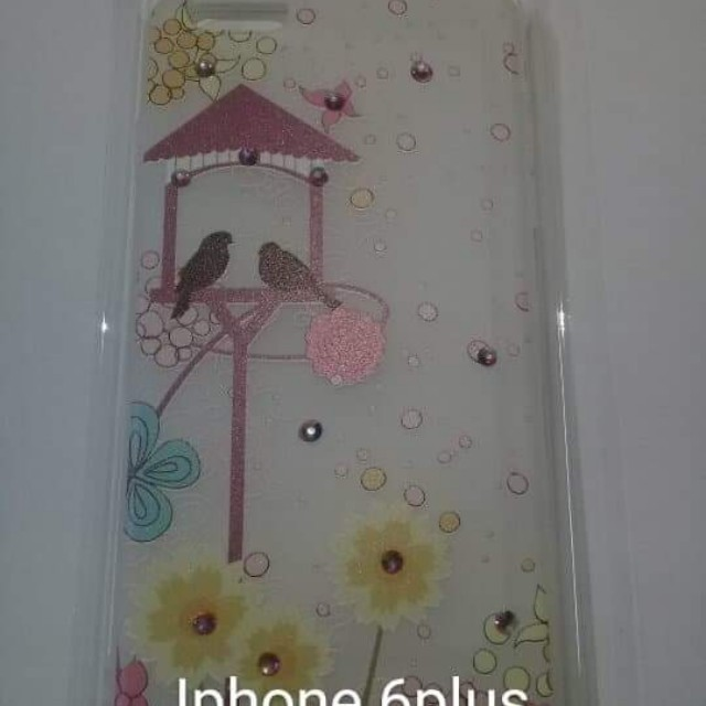 Iphone 6/6s plus - Love birds jelly case