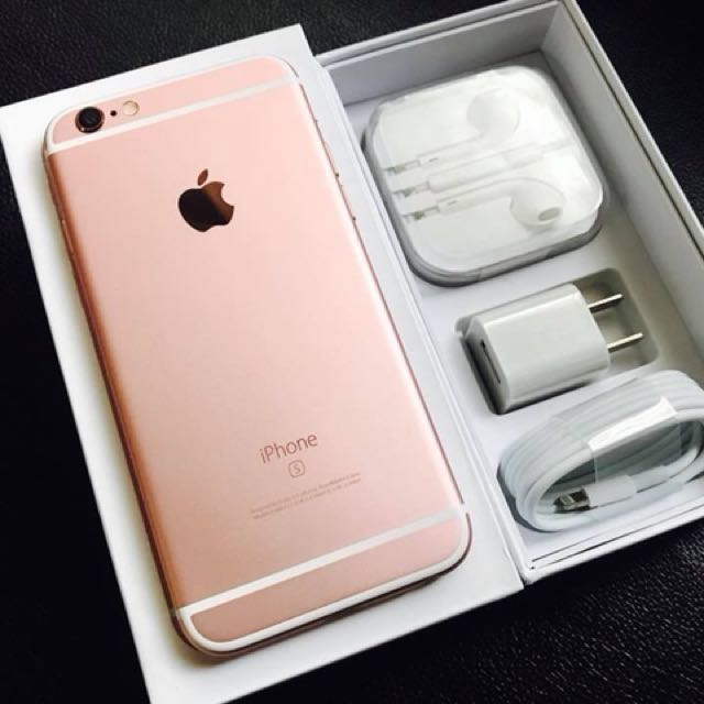 iPhone 6s 128gb RoseGold and SpaceGray