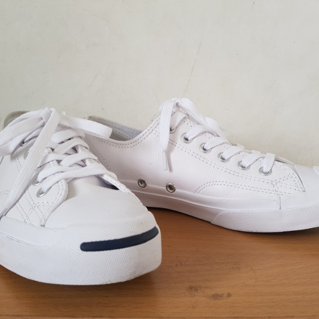 532e44e9ce7ad0 Jack Purcell Tumbled Leather Ox White