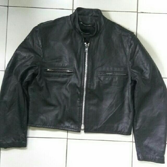 jaket kulit usa bukan schott