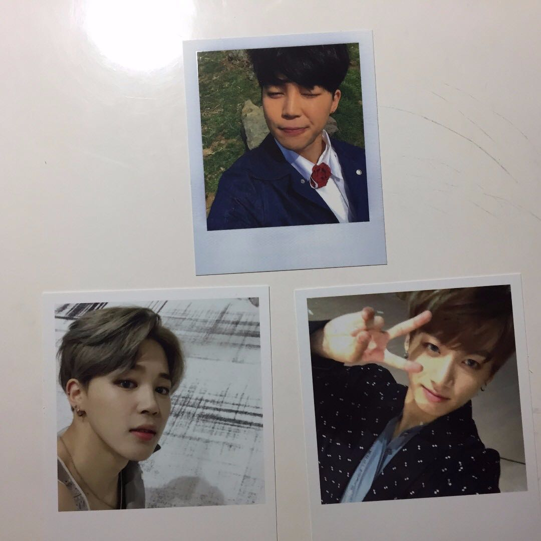 Jimin Jungkook (BTS) photocards / pc