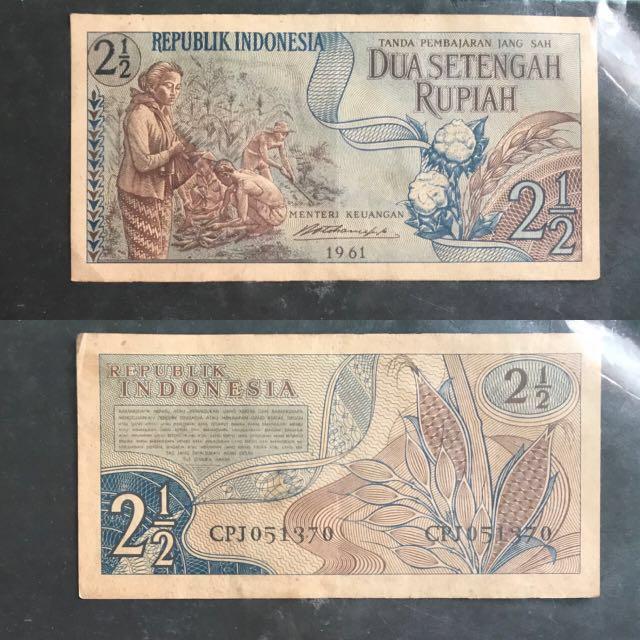 Jual borongan uang jadul indonesia murah