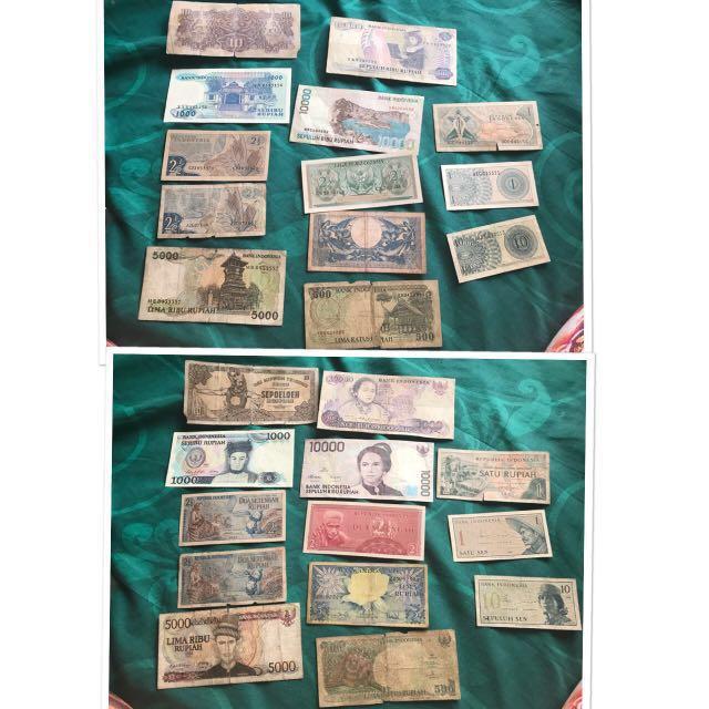 Jual borongan uang kuno murah