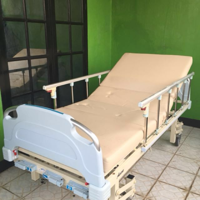 Jual hospital bed second ACARE 3 crank