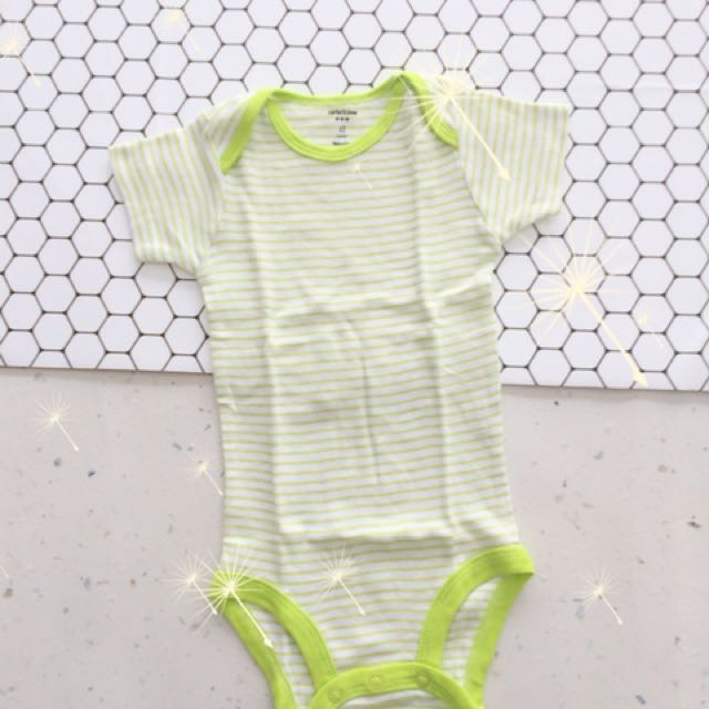 Jumper Green Stripe