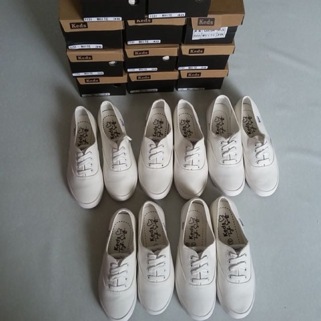 KEDS SHOES WHITE ON SALE!!!