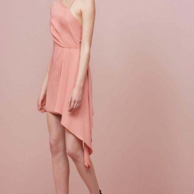 Keepsake the label - dusty rose mini dress